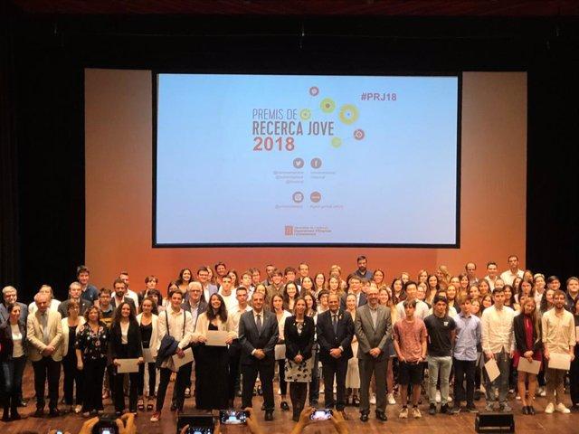 """Torra insta els estudiants a mantenir un """"esperit europeu"""", crític i humanista"""