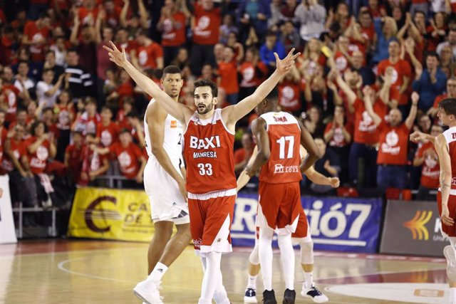 Baloncesto/Playoff.- Previa del Baxi Manresa - Real Madrid