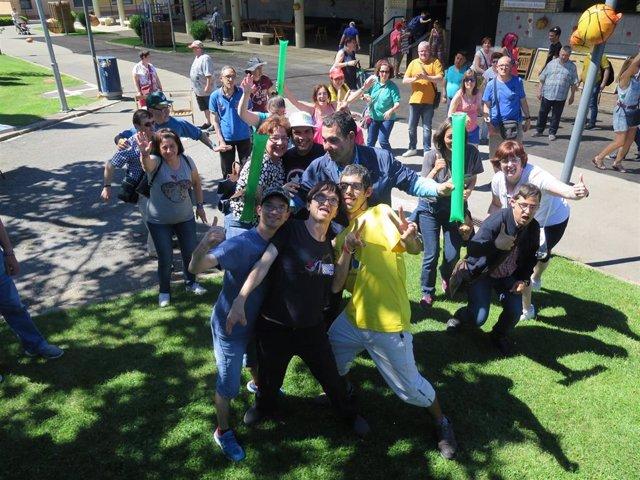Plena Inclusión La Rioja celebra una fiesta de 'Campeones riojanos'