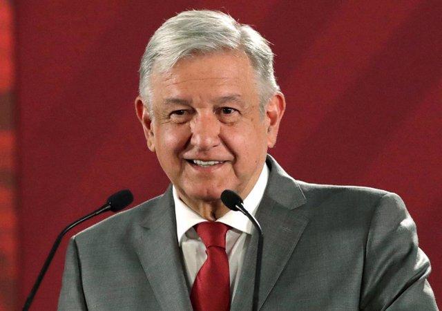 """México/EEUU.- López Obrador espera """"buenos resultados"""" en las negociaciones comerciales con EEUU"""