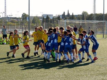 La Final Nacional de la Danone Nations Cup define sus semifinalistas femeninos y masculinos
