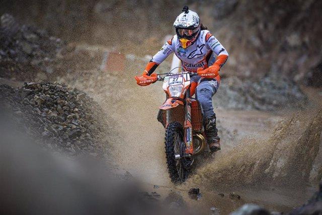 Motor.- Laia Sanz saldrá desde la primera línea de la Red Bull Hare Scramble