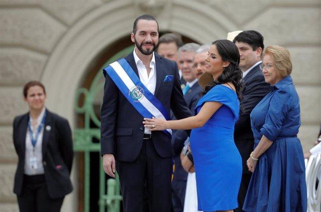 El Salvador.- Toma posesión Nayib Bukele como nuevo presidente de El Salvador