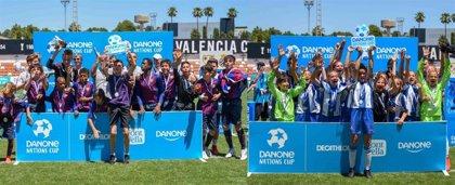 FC Barcelona y RCD Espanyol, campeones de la Final Nacional de la Danone Nations Cup 2019