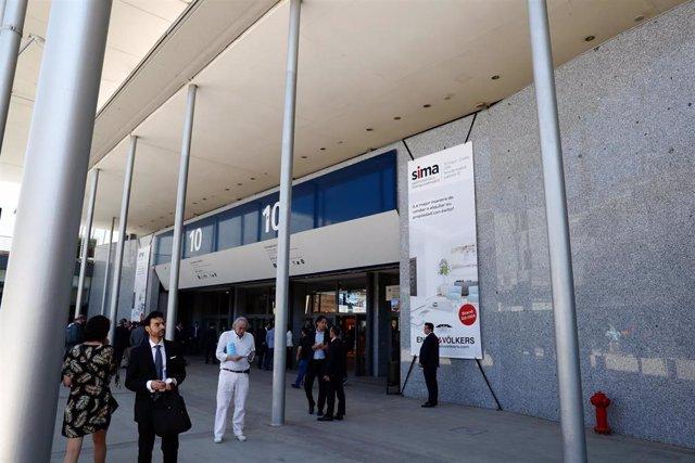 Inauguración de la XXI edición del Salón Inmobiliario Internacional de Madrid (SIMA) en la Feria de Madrid