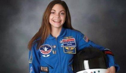 Llega a Argentina la aspirante a astronauta de 18 años que quiere viajar a Marte