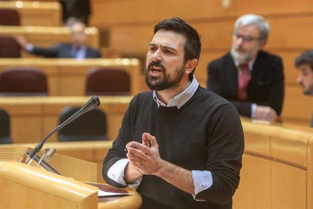Pedro Sánchez comparece en el pleno del Senado para informar sobre las líneas generales de actuación del Gobierno