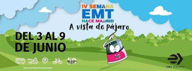 La Semana 'EMT Hace Madrid' se celebra a partir de este lunes con puertas abiertas y visitas a su Museo