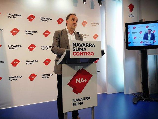 """26M.- NA+ dice que """"EH Bildu no se va a abstener gratis"""" y tiende """"la mano"""" al PSN para un gobierno constitucionalista"""