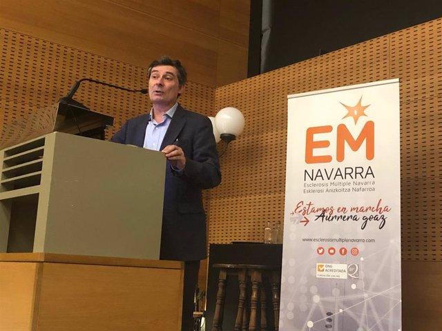 """José María Prieto: """"La investigación y los fármacos podrán cronificar y ralentizar"""" la esclerosis múltiple"""