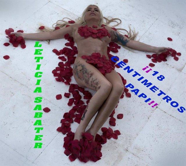 Leticia Sabater quiere ser sensual pero resulta hilarante y desconcertante en su nuevo single: 18 centímetros papi