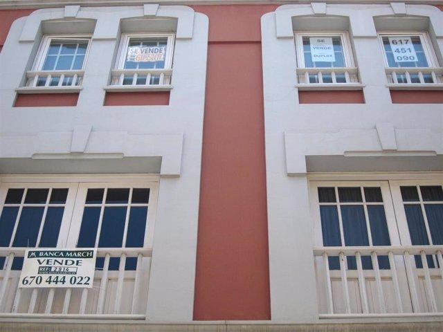El precio de la vivienda usada en Canarias crece un 3,5% durante el primer trimestre