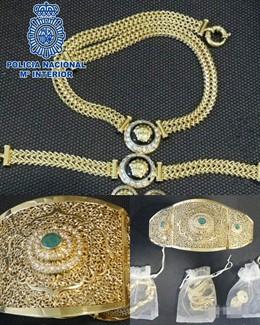 Sucesos.- Detenido por robar más de 40.000 euros en joyas en casa de una conocida