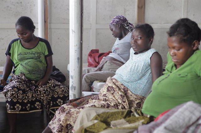Mujeres embarazadas, África