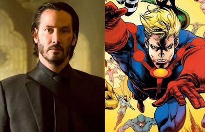 Marvel quiere a Keanu Reeves (John Wick) en Los Eternos junto a Angelina Jolie