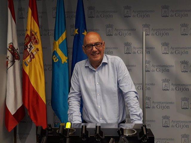 Av.- 26M-M.- Jorge Suárez renuncia a ser secretario general de UGT en el Ayuntamiento de Gijón al salir edil en Avilés