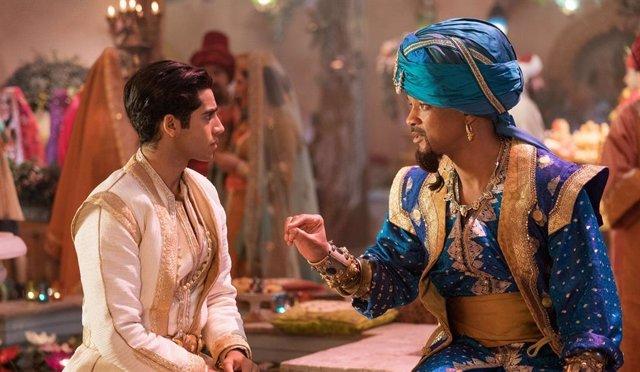 ¿Hay escena post créditos en Aladdin?