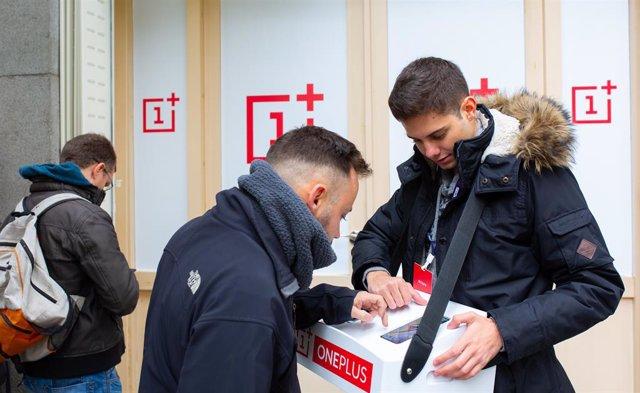 OnePlus prepara el tret de sortida del seu nou OnePlus 7 amb una Pop-up store a Barcelona