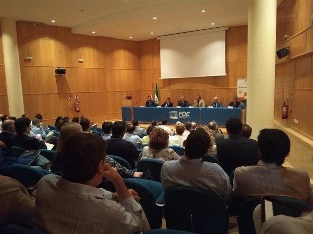 Huelva.-Puertos.-La FOE y el CADE contarán con una oficina para asesorar sobre licitaciones y concursos del puerto