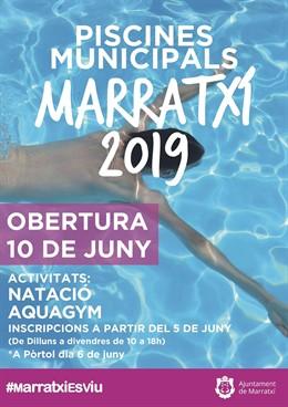 Las tres piscinas municipales de Marratxí abren al público el 10 de junio