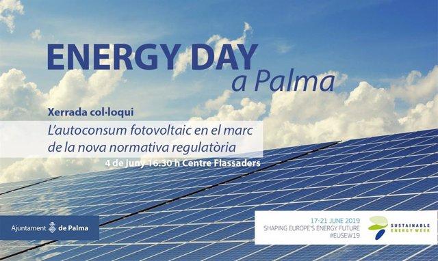Cort organitza aquest dimarts una xerrada sobre autoconsumo energètic emmarcada en l'Energy Day de Palma