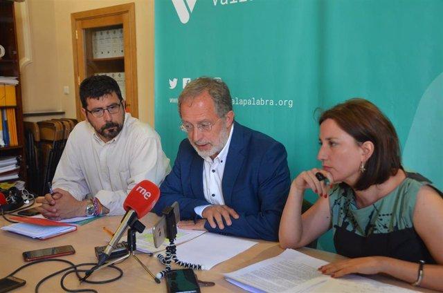 """VTLP muestra su """"decepción"""" con la propuesta del PSOE ya que deja a su formación """"un papel marginal"""""""