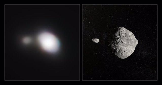 Un telescopio exoplanetario caza un asteroide que se acercó a la Tierra