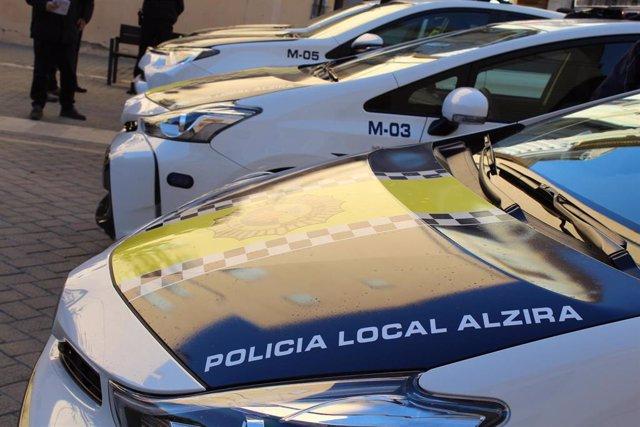 POLICIA LOCAL D'alzira DETÉN UN HOME DE 35 ANYS PER AGRESSIÓ A LA SEUA PARELLA
