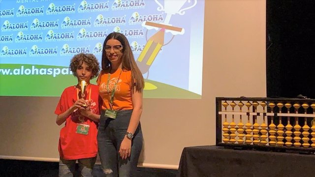 Almería.-Educación.-Un escolar de 11 años gana cinco años seguidos el campeonato provincial de cálculo mental