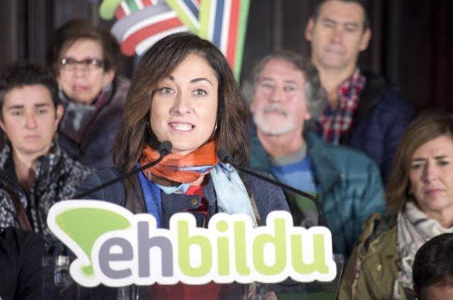 Parlamento Vasco designa a Idurre Bideguren senadora autonómica por EH Bildu