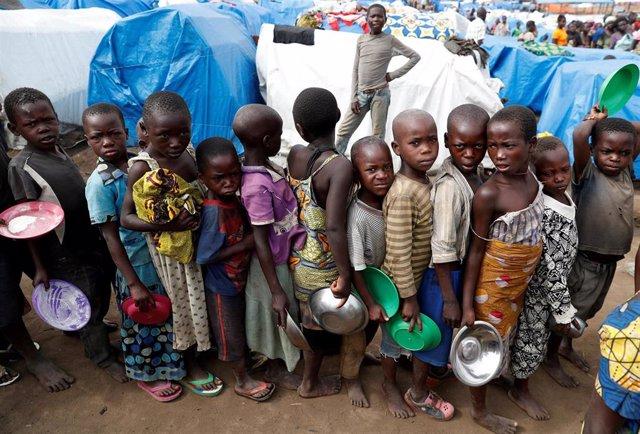 RDCongo.- En RDC, 13 millones de personas pasan hambre aunque el país puede producir más de lo que consume
