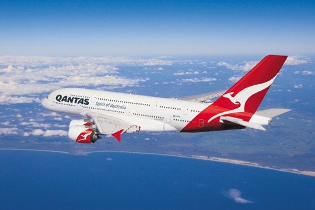 A380 De Qantas