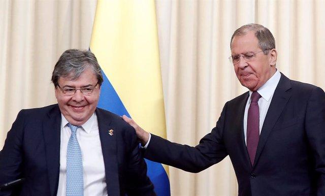 Venezuela.- Colombia y Rusia coinciden en la necesidad de resolver la crisis venezolana por la vía pacífica