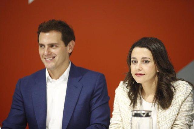 Reunión de la Ejecutiva de Ciuadanos una semana después de las elecciones del 26M