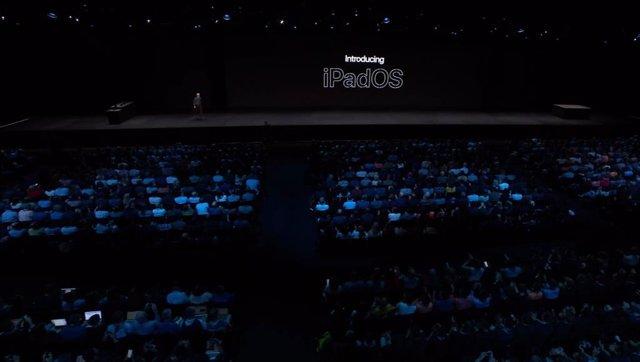 Apple presenta un nuevo sistema operativo para sus tabletas iPad, que dejan de usar iOS