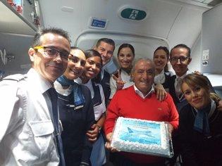 Air Europa aterriza en Panamá