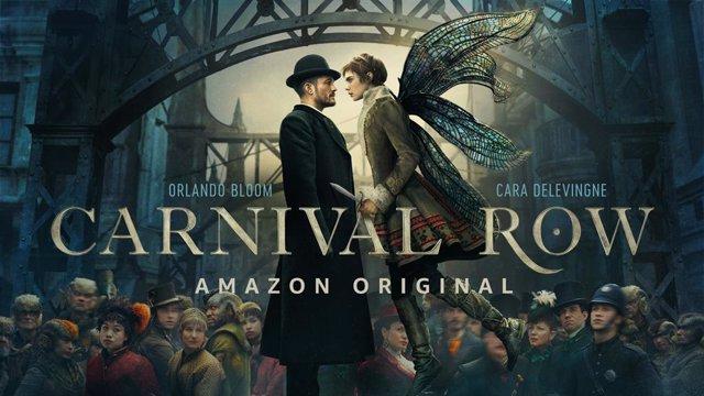 """A Orlando Bloom y Clara Delevingne se les acaba el tiempo en el téaser de Carnival Row: """"Algo inhumano se acerca"""""""