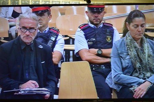 Fernando Blanco y Marga Garau, padres de la menor Nadia, en el juicio