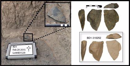 Las herramientas de piedra se inventaron repetidamente y de forma diversa