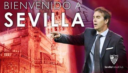Lopetegui firma tres años con el Sevilla FC