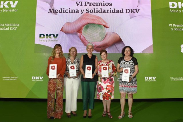 Empresas.-DKV entrega los VI Premios Medicina y Solidaridad a la capacidad solidaria en el ámbito de la salud