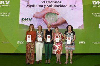 DKV entrega en Málaga los VI Premios Medicina y Solidaridad