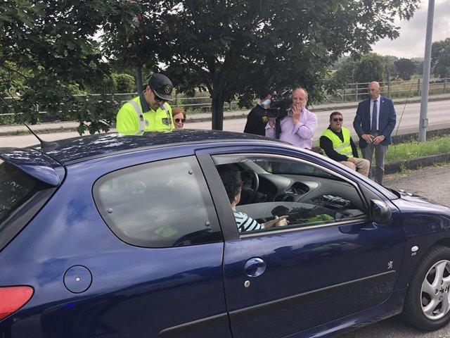 Tráfico realizará está semana en Cantabria unas 2.500 pruebas de alcohol y drogas a conductores