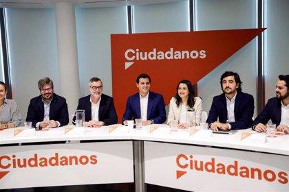 """Rivera pide al PSN que se abstenga para que gobierne Navarra Suma y la comunidad no caiga """"en manos de Batasuna y PNV"""""""