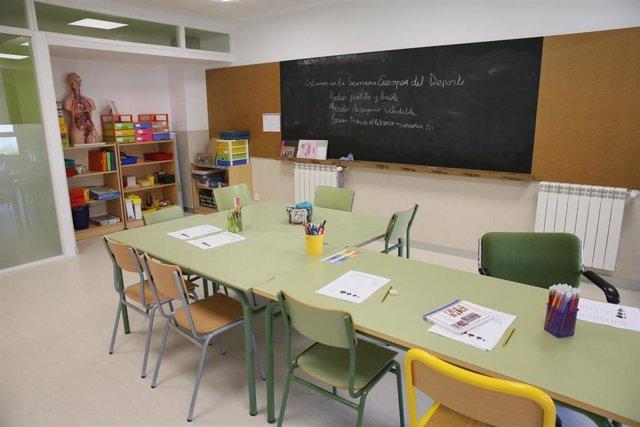 Cádiz.-Educación.-El 98,39% del alumnado de segundo ciclo de Infantil de la capital logra plaza en su centro prioritario