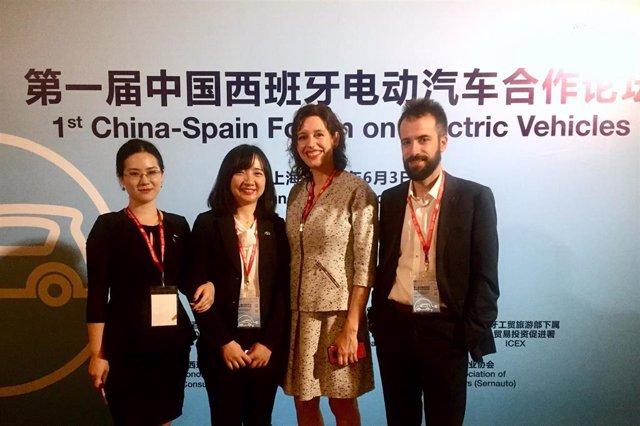 S3.- Navarra busca oportunidades en torno al vehículo eléctrico en el primer 'China Spain Forum on Electric Vehicle'
