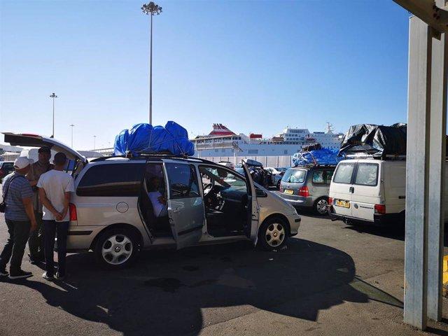 Almería.-Puertos.- Más de 195.000 pasajeros han pasado por el puerto de Almería entre enero y mayo