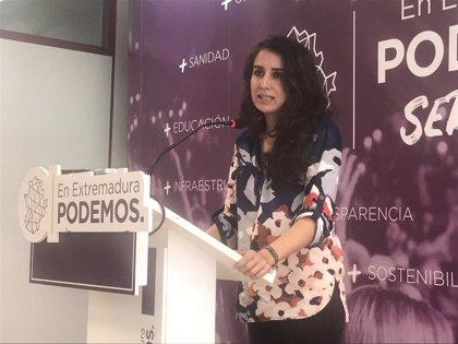 """Podemos considera que ni las cifras de desempleo ni la calidad del trabajo en Extremadura son """"para sacar pecho"""""""
