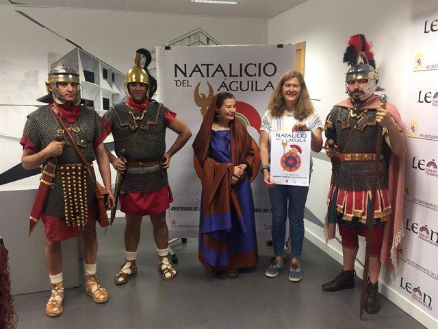 León rememorará del 5 al 9 de junio la fundación de la Legio VII Gémina con el 'Natalicio del águila'