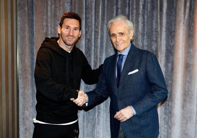 Fútbol.- Leo Messi y Josep Carreras unen sus fundaciones en la lucha contra la leucemia